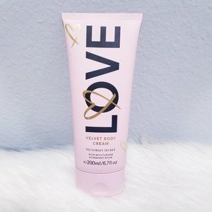 "New Victoria's Secret ""LOVE"" Velvet Body Cream"
